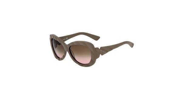 Dámské béžové sluneční brýle Diesel