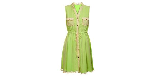 Dámské mintové šaty Lucy Paris