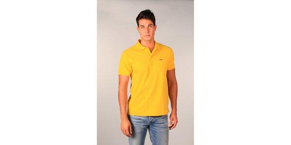 Pánské žluté polo tričko TH