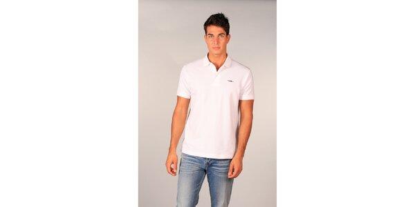 Pánské bílé polo tričko značky TH