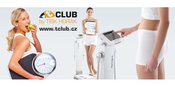 199 Kč za celkovou analýzu těla přístrojem In Body ve studiu T-CLUB!