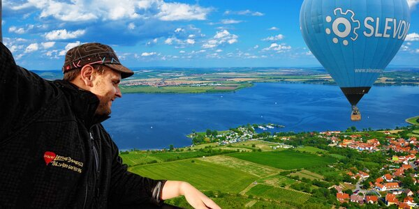 Romantický let balónem v Čechách i na Moravě