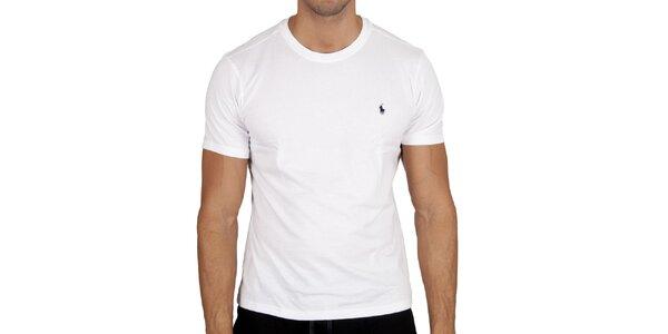 Pánské bílé tričko Polo Ralph Lauren