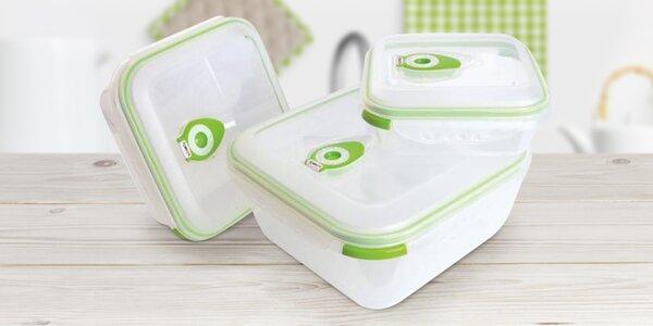 Vakuové dózy Vac Pure pro delší skladování potravin