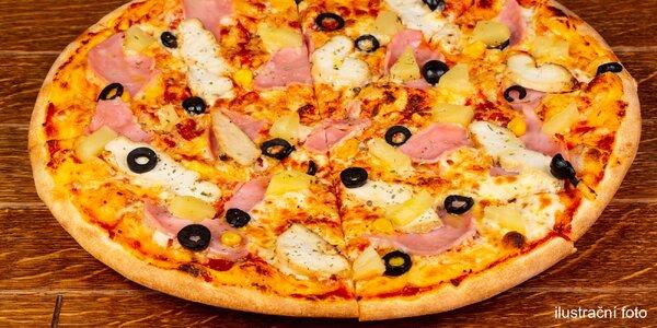 Pizza a ice tea v Záběhlicích pro 1 i 2 osoby