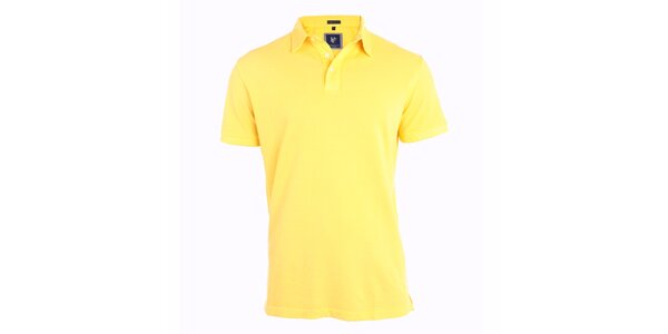 Pánské žluté polo tričko Pietro Filipi