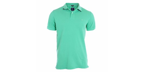 Pánské tyrkysově modré polo tričko Pietro Filipi
