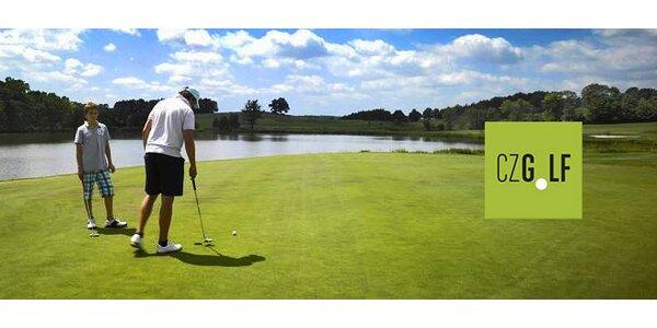 1000 míčků na driving range nebo 2 hodiny golfu s trenérem