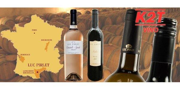 299 Kč za DVĚ francouzská vína. Cinsault-Syrah Rosé 2010 a Malbec 2010!