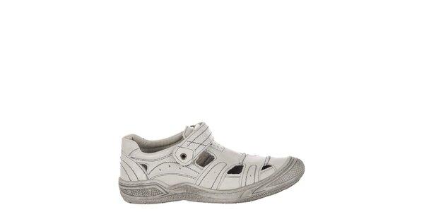 Dětské světle šedé sandálky Billowy