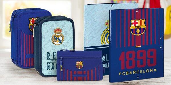 Školní pomůcky se znakem fotbalových klubů
