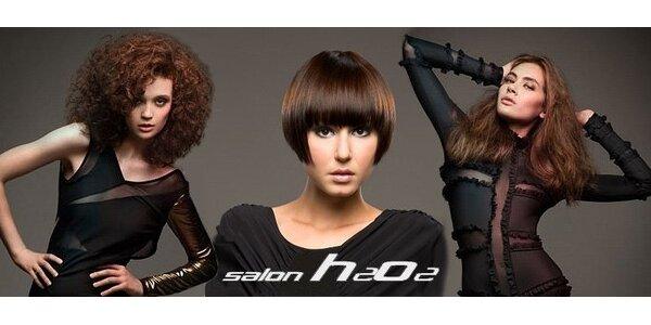 299 Kč za kompletní střih vlasů od Gabriely Mocové v salonu H2O2.