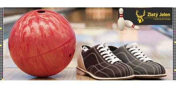 99 Kč za hodinový pronájem bowlingu ve Funcentru v Jablonci nad Nisou!