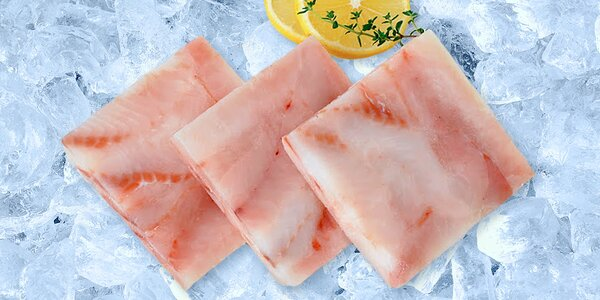 4 kg filé z aljašské tresky: jemné maso bez kostí