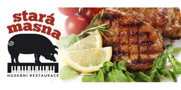 149 Kč za DVA steaky Mojito na jamajském rumu