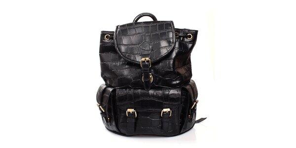 Dámský černý batůžek Pietro Filipi