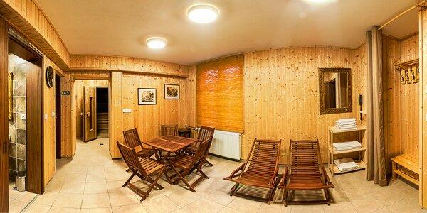 Elegantní 4* hotel: polopenze a termální bazénem