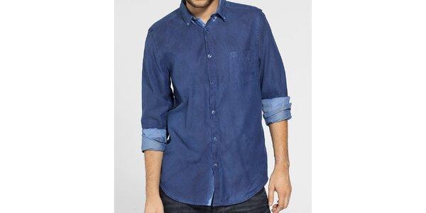 Pánská indigově modrá košile Ben Sherman