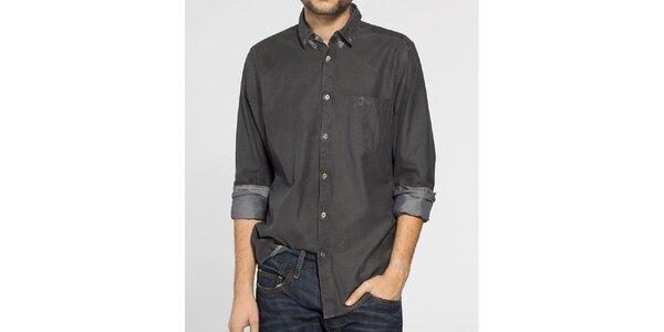 Pánská tmavě šedá košile Ben Sherman