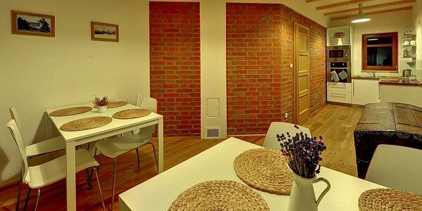 Třídenní pohoda v luxusních apartmánech v krušnohorské Bublavě pro 2-4 osoby