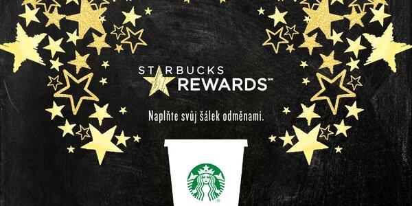 Věrnostní karta Starbucks s kreditem 200 Kč