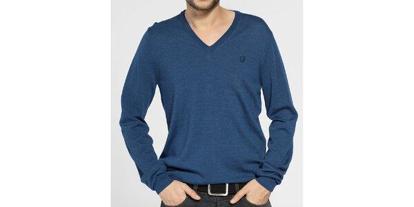 Pánský tmavě modrý svetr Ben Sherman