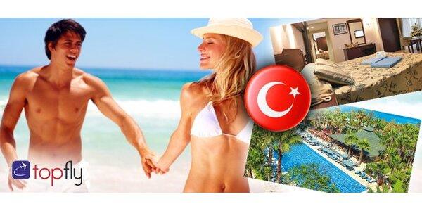 6990 Kč za letecký zájezd do Turecka na 8 dní. Prodlužte si léto!