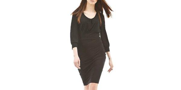 Dámské černé šaty s dlouhými rukávy Yulija Babich