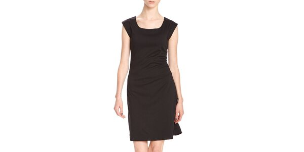 Dámské krátké černé šaty Yuliya Babich