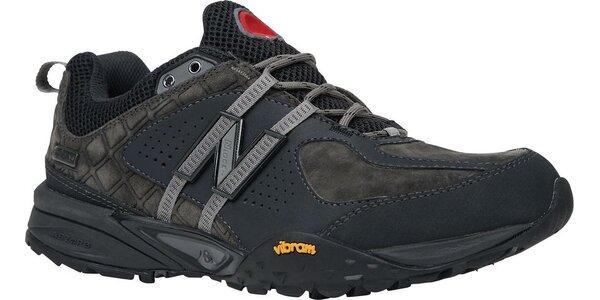Pánská černá outdoorová obuv New Balance