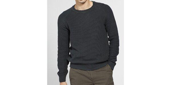 Pánský tmavě šedý svetr Ben Sherman