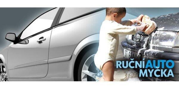 99 Kč za šetrné ruční umytí vašeho vozidla!