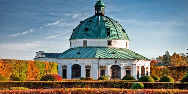Romantika v Kroměříži s degustací vína i saunou