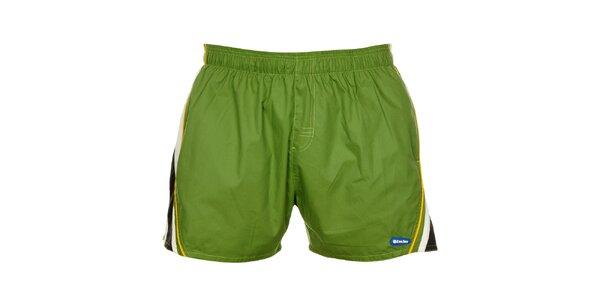 Pánské zelené plavky Exe