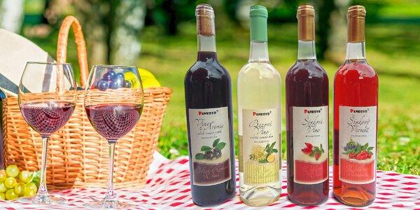 Ovocná vína z venkova: ostružina, jahoda i šípek