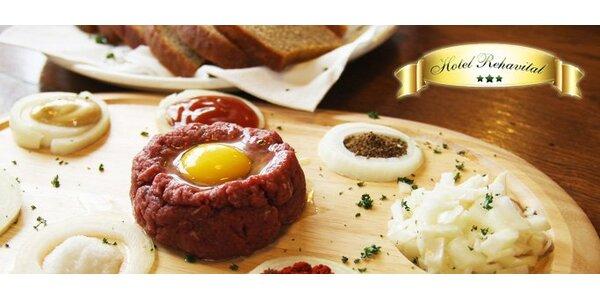 139 Kč za DVĚ lahodné porce tataráku s neomezeným množstvím topinek!