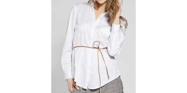 Dámská bílá košile French Connection s asymetrickými zády