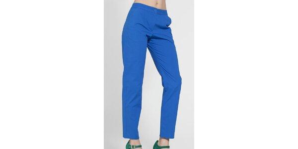 Dámské zářivě modré kalhoty French Connection