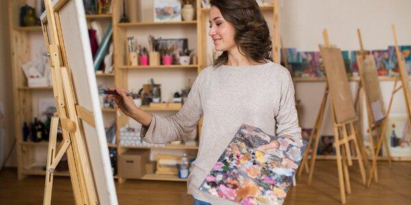 Kreativní výtvarné kurzy v Ateliéru Art Generace