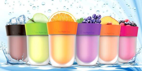 Aby vám voda chutnala: kelímky s ovocnou příchutí