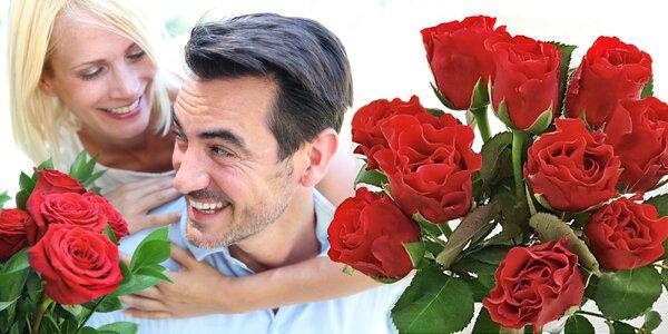 Kytice růží El Toro se vzkazem a rozvozem po ČR