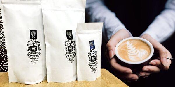 Světové výběrové kávy z české pražírny: 100–500 g