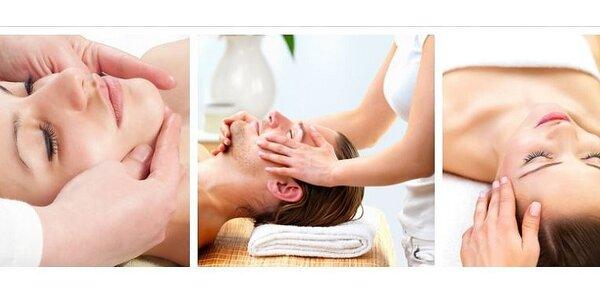Indická antistresová masáž hlavy a obličeje