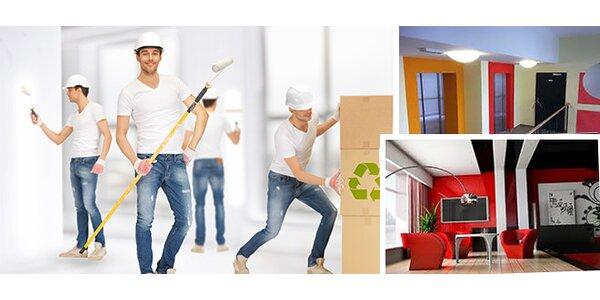 Profesionální vymalování bytu domu i kanceláře