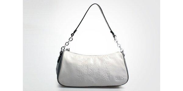 Dámská šedo-bílá kabelka Belle & Bloom