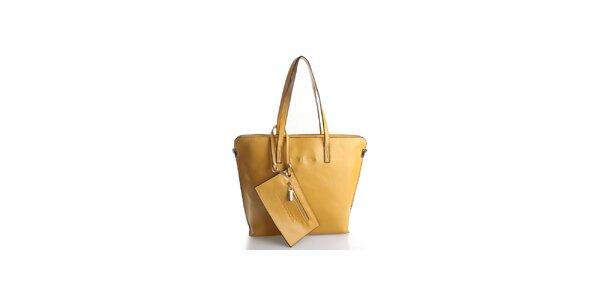 Dámská žlutá kabelka Belle & Bloom