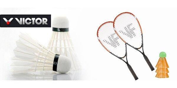 Set 2 raket a 3 míčků na speed badminton