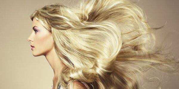 Rekonstrukce vlasů, botox, střih i melír