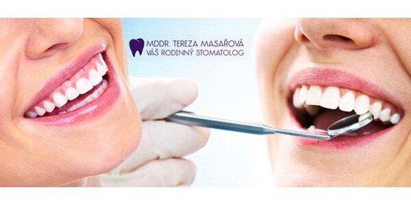 Dentální hygiena v centru Prahy - depurace či Air-Flow