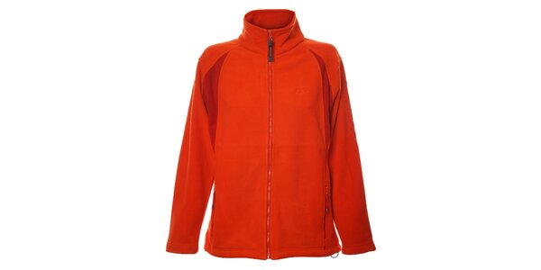 Dámská oranžová fleecová bunda Northland se stojáčkem